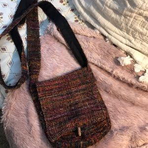HIPPIE BOHO CROSSBODY PURSE